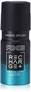 Axe Recharge Marine Splash Deodorant, 150ml Rs 99 - Amazon
