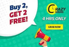 Flipkart Fashion Products Buy 2 Get 2 Free