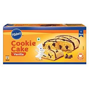 [Pantry] Pillsbury Cookie Cake, Vanilla, 138g- Amazon