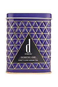 Durrung One-First Flush Assam Tea, 100g- Amazon