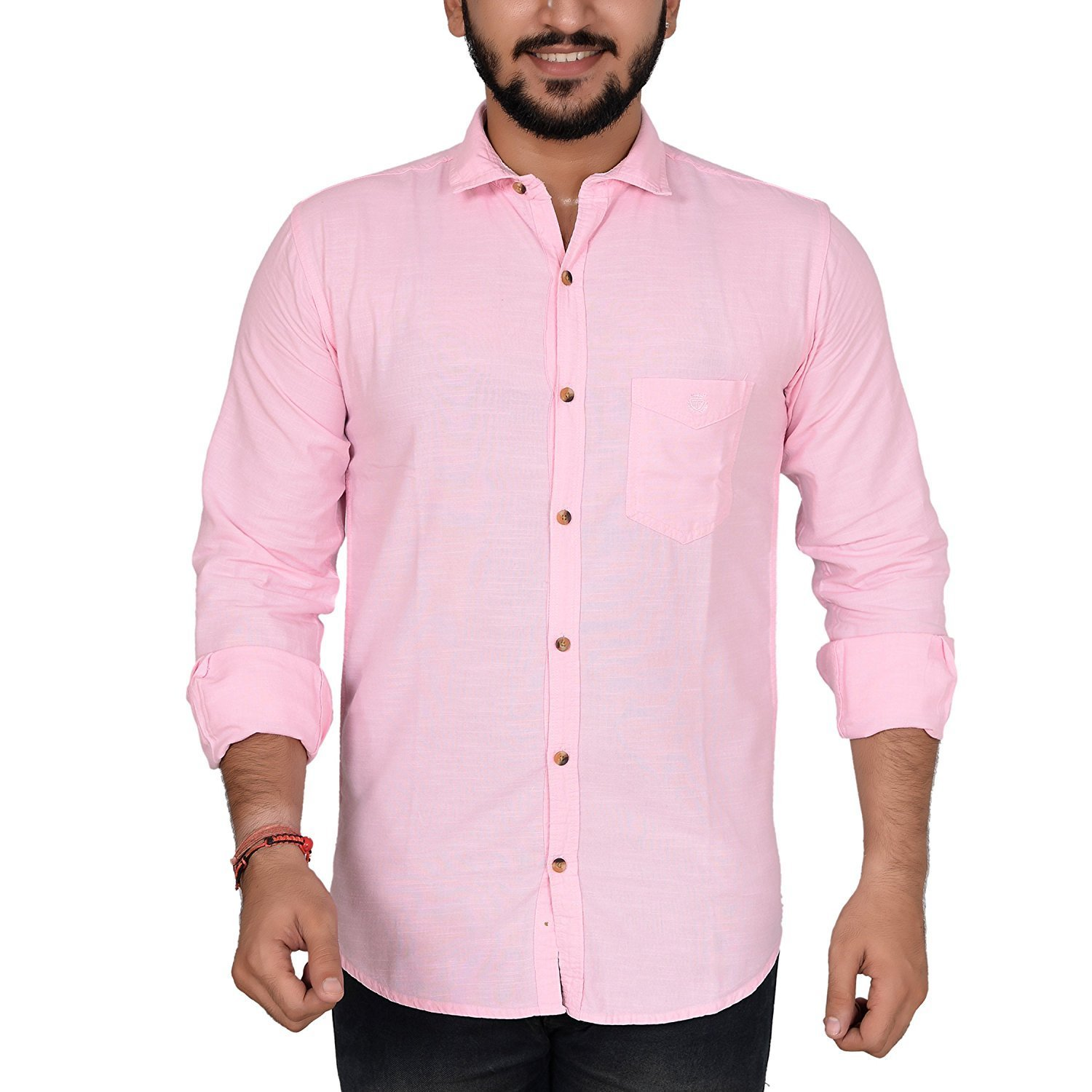 (Size 40) ANRY Cotton Casual Shirt- Am...