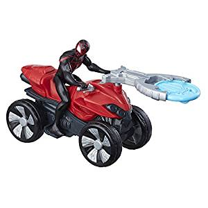 Marvel Spider-Man Blast 'n Go Kid Arachnid with ATV- Amazon