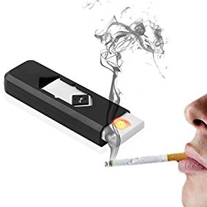 Humble Electronic USB Cigar Cigarette Lighter Windproof Rechargeable Flameless Lighter.- Amazon