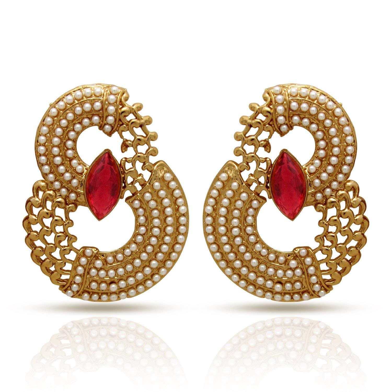 Donna Crystal Dangle & Drop Earrings For Women- Amazon