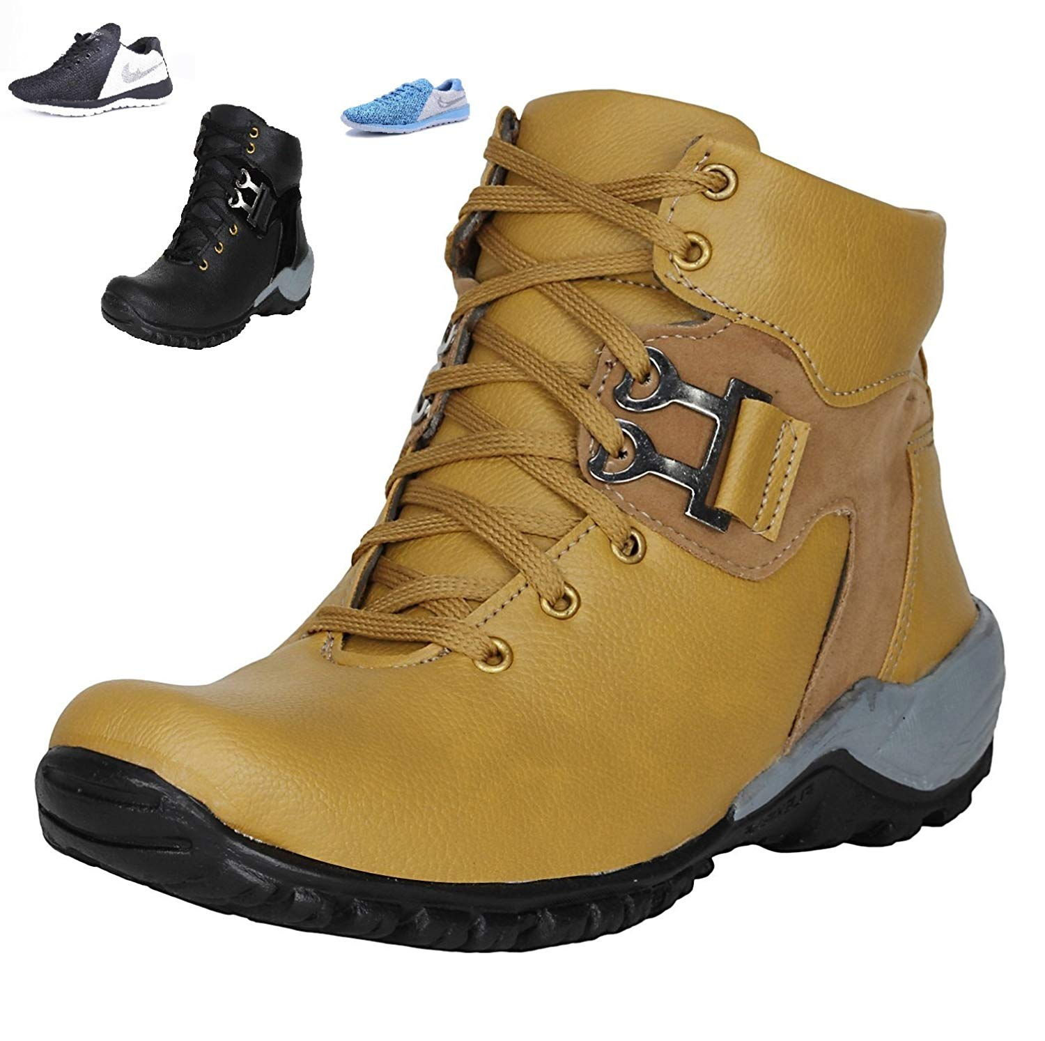 (Size 6) Arr Fashions Men's Trekking and Hiking Boots- Amazon