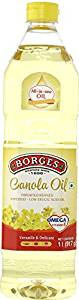 [Pantry] Borges Canola Oil, 1L- Amazon