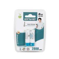 [LD] Envie AA R06 Mignon Envie Ni-MH 2800 2X AA Mah Rechargeable Batteries (White)- Amazon