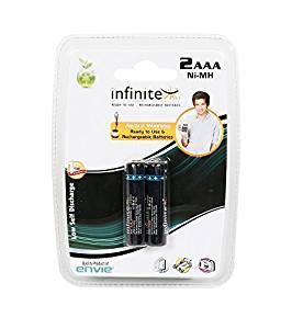 Envie InfinitePlus-1100AAA Rechargeable Battery (Black)- Amazon