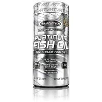 MuscleTech Essential Series Platinum Fish Oil - 100 Capsules- Amazon