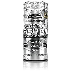 [LD] MuscleTech Essential Series Platinum Fish Oil - 100 Capsules- Amazon