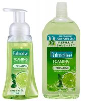 [Pantry] Palmolive Foaming Hand Wash Lime and Mint - 250 ml with Palmolive Foaming Hand Wash Refil - 500 ml (Lime and Mint)- Amazon