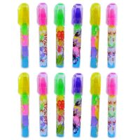 Parteet Birthday Party Return Gifts Stacking Pen Type Erasers For Kids Pack Of 12 Offer On Amazon India