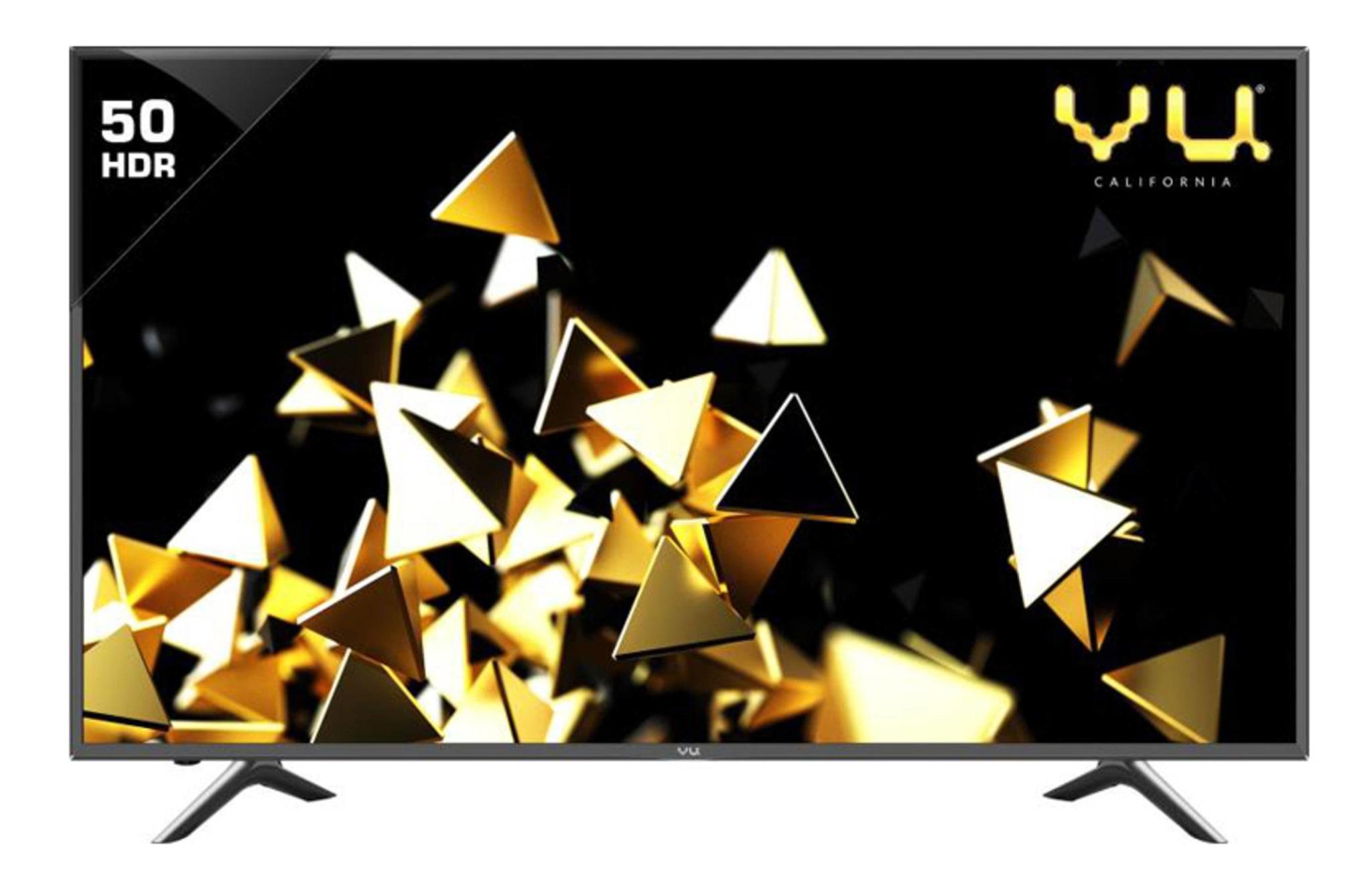 VU 127 cm (50) LEDN50K310X3D 4K (Ultra HD) LED Smart TV