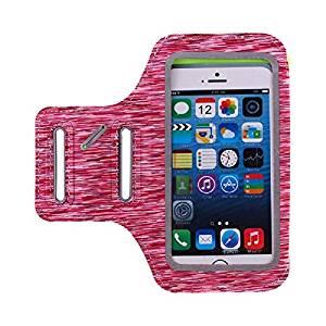 Nimble House ®™ 5.5 inch Running Phone Armband for Women, Universal Size Upto Galaxy S7/iPhone 8 Plus Sports Arm Case Holder- Amazon