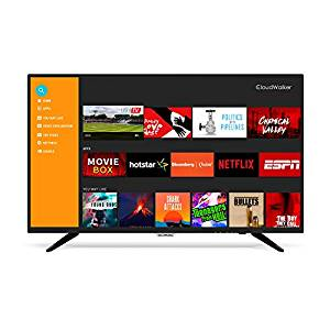 CloudWalker 101 cm (40 inches) 4K Ready 40SFX2 Full HD Smart LED TV (Black)- Amazon