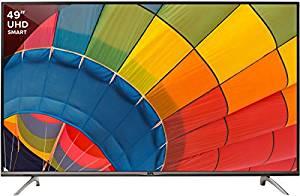 BPL 123 cm (49 inches) Steller BPL123E36S4C 4K Ultra HD LED Smart TV (Black)- Amazon