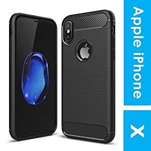 Noise Apple iPhone X Carbon Fibre Case [Black Carbon Case]- Amazon