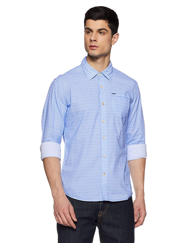 Pepe Jeans Men's Printed Regular Fit Casual Shirt- Amazon