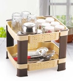 Selvel Home Beautiful Kitchen Rack- Pepperfry