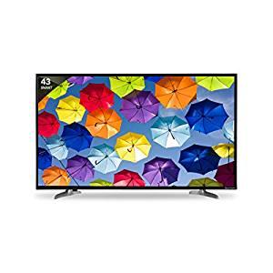 Skyworth 109.3 cm (43 inches) Smart 43 M20 Full HD LED Smart TV (Black)- Amazon