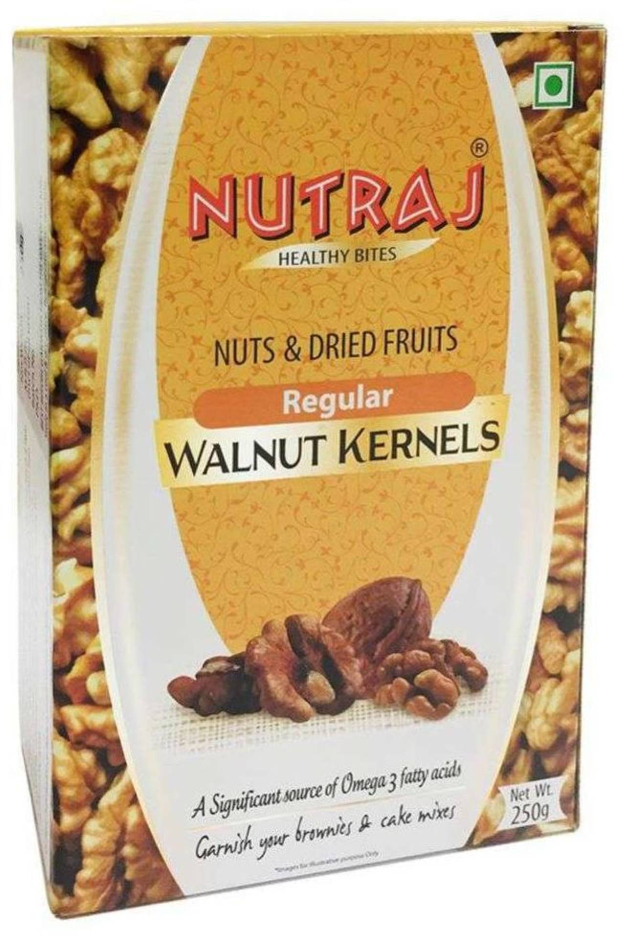 nutraj Walnut kerenels 250 gm worth RS...