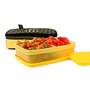 FCBARCELONA Half Time Big Lunch Box Yellow (Licensed By Cello)- Amazon