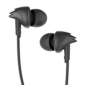 [LD]  Boat BassHeads 100 in-Ear Headphones with Mic (Black)- Amazon