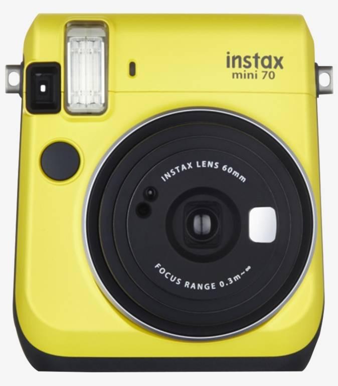 Fujifilm INSTAX MINI 70 Instant Camera with Selfie Mode (Yellow)