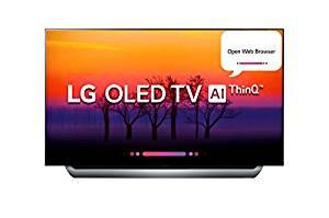 LG 139.7 cm (55 inches) OLED55C8PTA 4K OLED Smart TV (Black)- Amazon