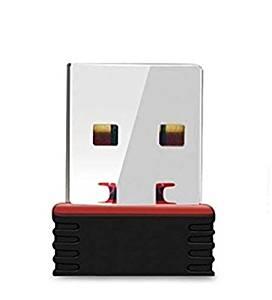 Terabyte Mini 2.4Ghz, 500Mbps Wireless WiFi Dongle (Black)- Amazon
