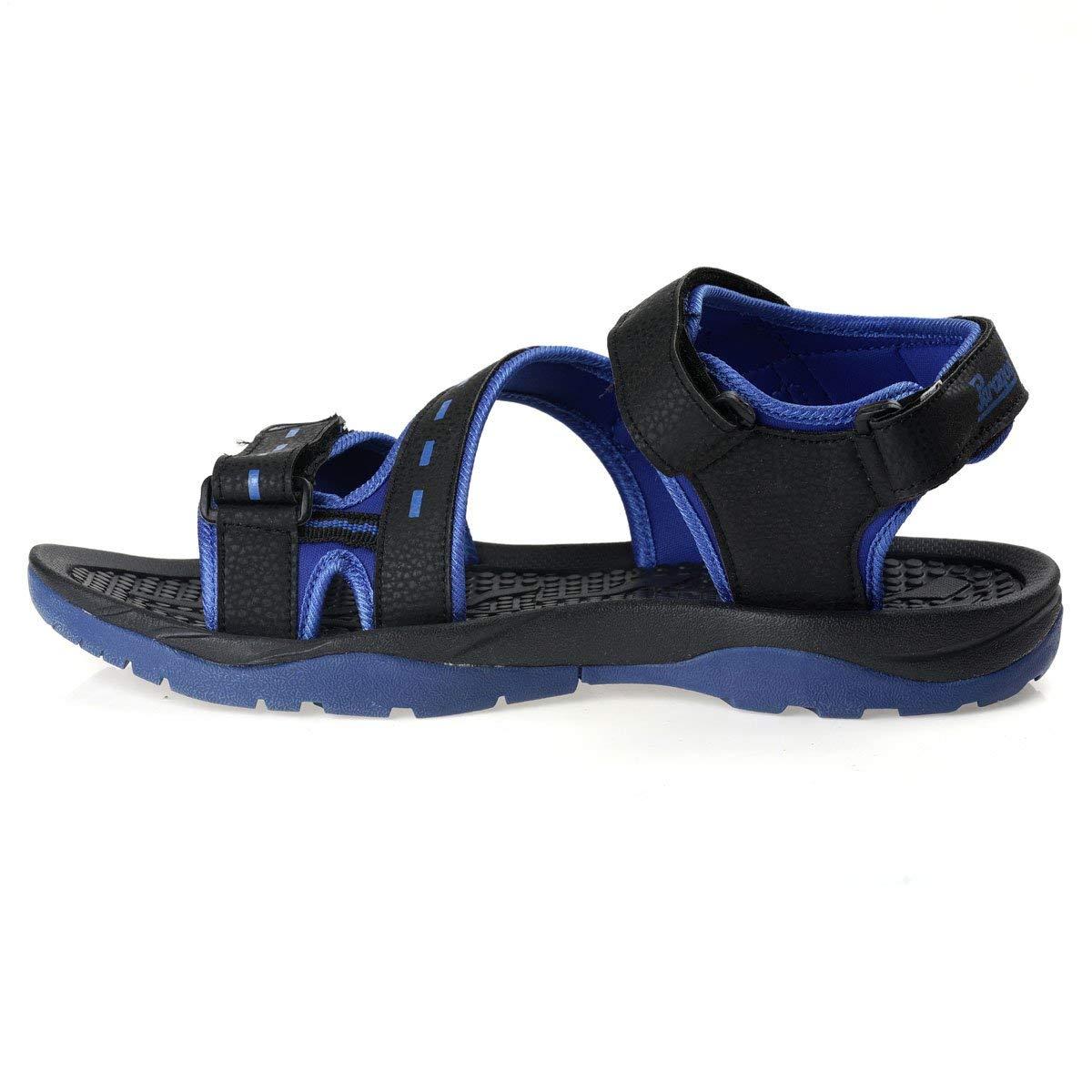 PARAGON Stimulus Men's Black Sandals- Amazon