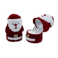 Rubys Creations Santa Clause Shaped Plastic Ring Jewellery Box, Red- Amazon