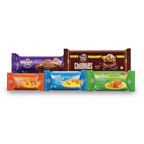 Britannia Good Day (Assorted Cookies) Pack Of 9 100% Off