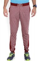Fila Solid Men Maroon Track Pants- Fli...