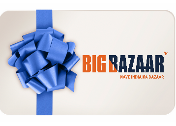 Big Bazaar Rs. 1000 Gift Voucher Rs. 712(New Users) or Rs. 855 (Old Users) Using Coupon