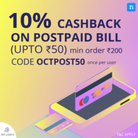 Niki - 10% cashback upto 50 on postpaid/prepaid/DTH recharges and 5% upto 75 ...