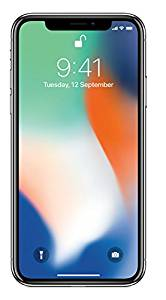 Apple iPhone X (Silver, 3GB RAM, 64GB Storage)- Amazon