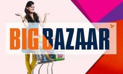 Get 10% Cashback on Big Bazaar gift vouchers at Nearbuy