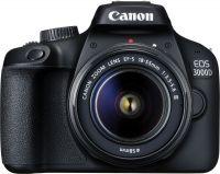 Canon EOS 3000D DSLR Camera Single Kit with 18-55 lens (16 GB Memory Card & Carry Case)(Black)- Flipkart