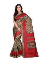 e-VASTRAM Women's Art Mysore Printed Silk Sarees- Amazon