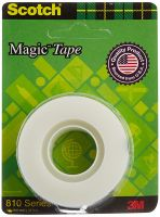 Scotch Magic Blaster Transparent Tape, 19 mm x 32.9 m- Amazon