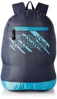 Flying Machine Fabric Navy Blue Laptop Backpack (FMLO8154)- Amazon