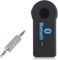 SS v4.0 Car Bluetooth Device with 3.5mm Connector, USB Cable, Audio Receiver, Adapter Dongle(Black)- Flipkart