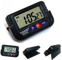 [LD] AutoSun-Car Dashboard/Office Desk Alarm Clock and Stopwatch with Flexible Stand- Amazon