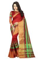 Upto 90% Off on Sarees with Blouse Piece Starts from Rs. 164- Amazon