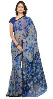 85% Off on Vaamsi Chiffon Sarees with Blouse Piece Starts from Rs. 249- Amazon
