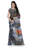 Kashvi saree Women's Sarees with blouse piece- Amazon