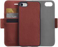 AmazonBasics iPhone 8/7 PU Leather Wallet Detachable Mobile Cover, Dark Brown- Amazon