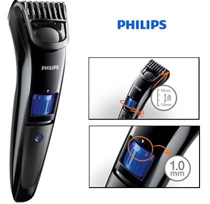 Philips QT4000 /15 Pro Skin Advanced Trimmer For Men -(Black)