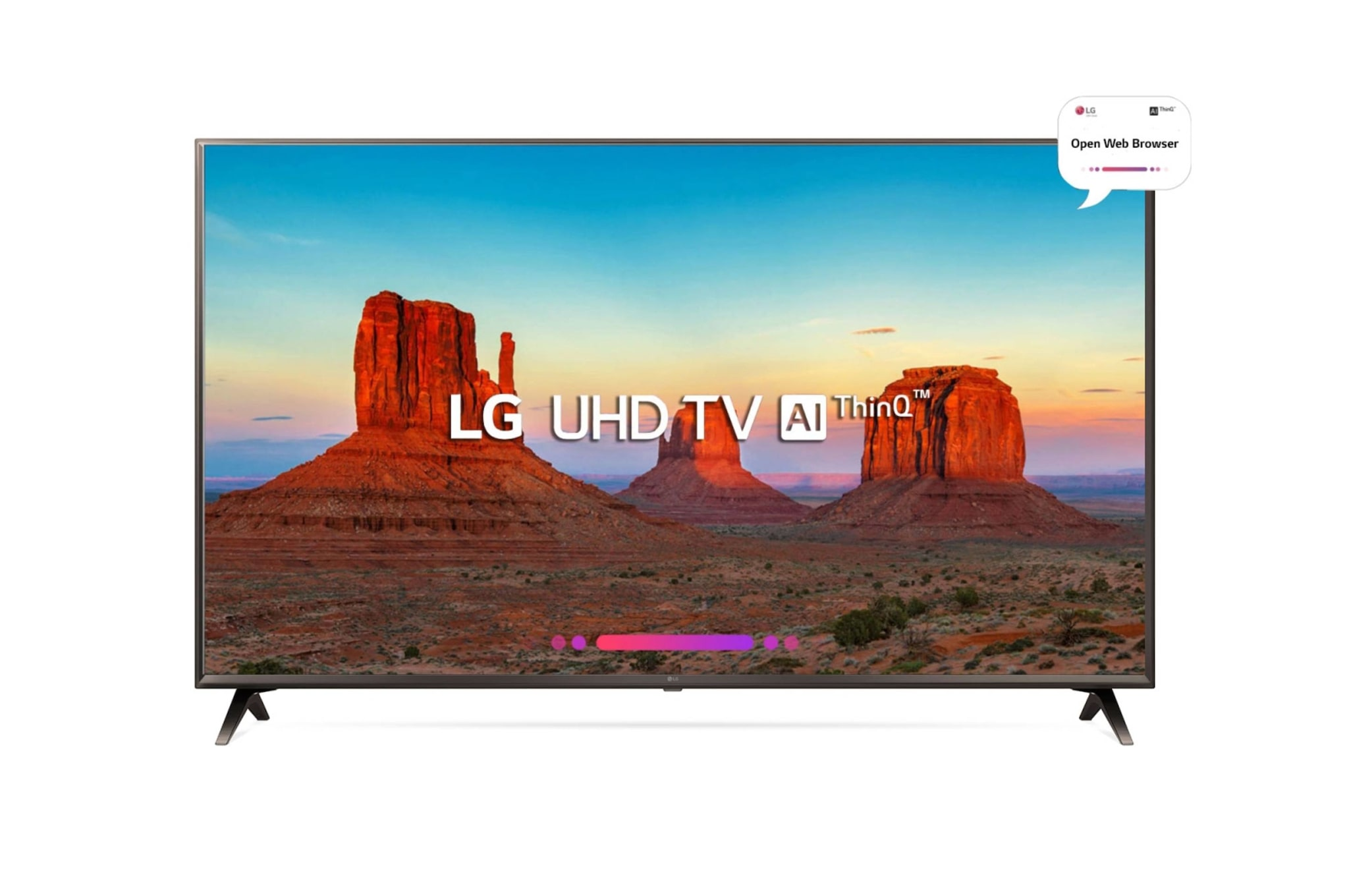 LG 138cm (55) Ultra HD Smart TV (10000 Price Difference + Freebies)